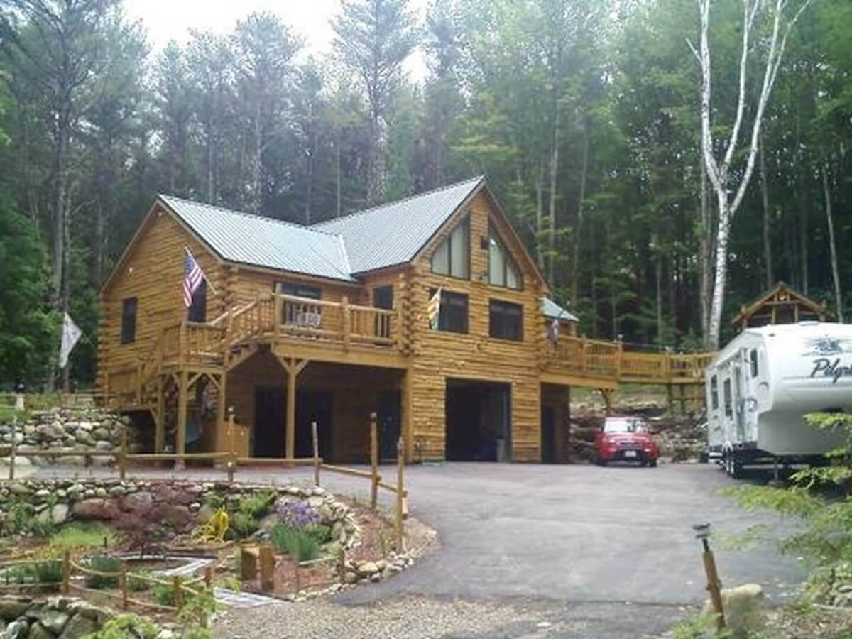 Bloomington Residential Electrician - Full electric log home